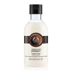 The Body Shop جوز الهند دش كريم جل غسالة الجسم 250 مللي ترطيب مغذي البشرة الجافة رائحة طازجة الصابون حمام الحرة
