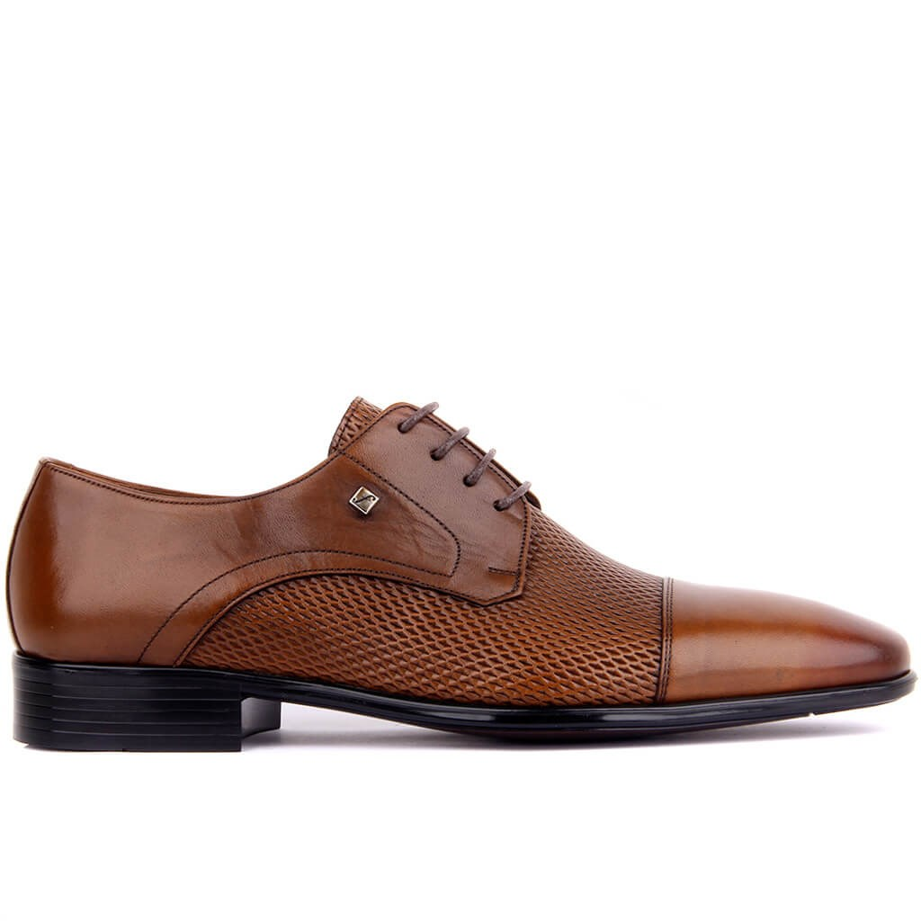 Fosco-Tan Genuine Leather Men's Classic Shoes