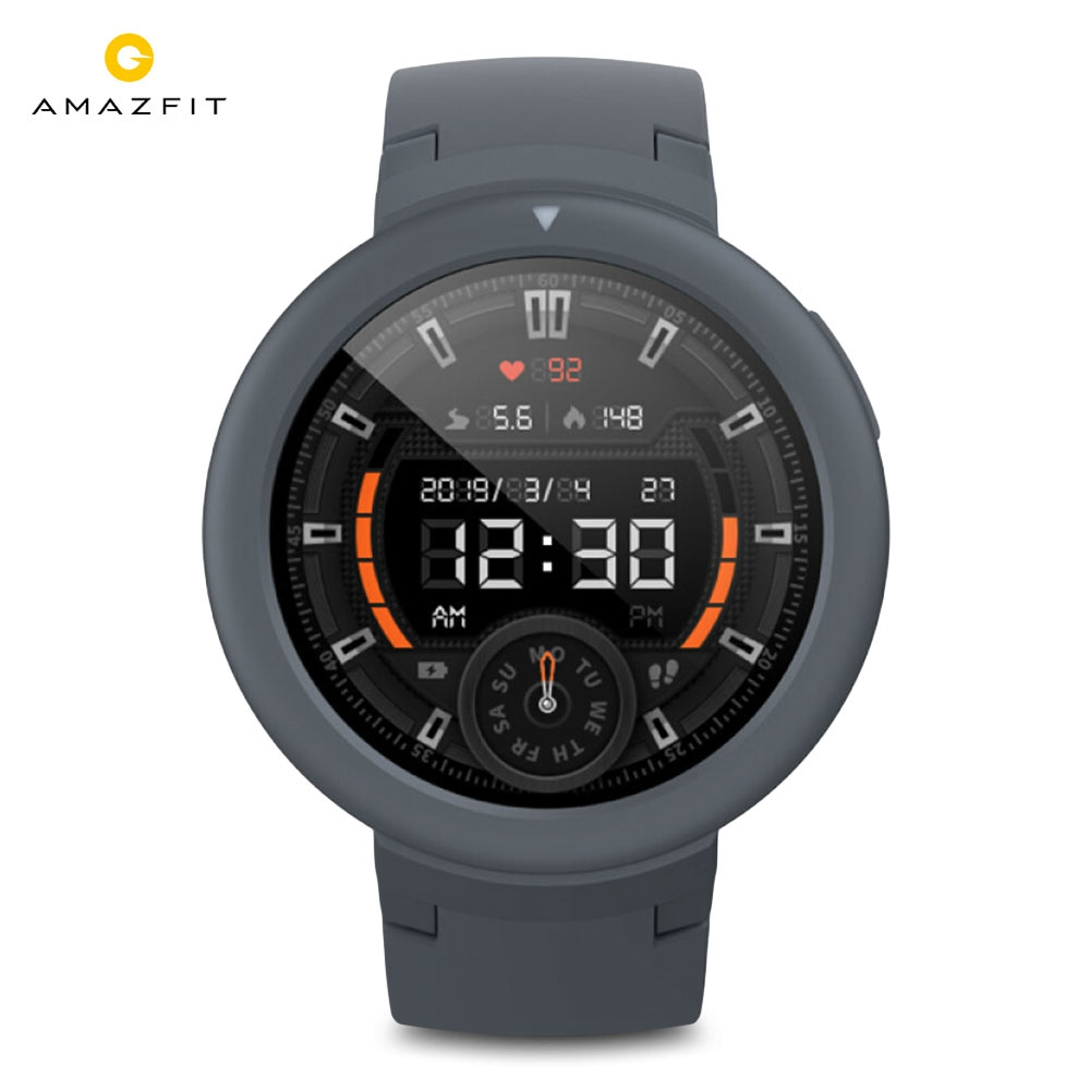 English Version HUAMI <font><b>AMAZFIT</b></font> Verge <font><b>Lite</b></font> Smartwatch 20 Days Battery Life 1.3 Inch AMOLED Screen Built-in GPS Heart Rate Monitor image