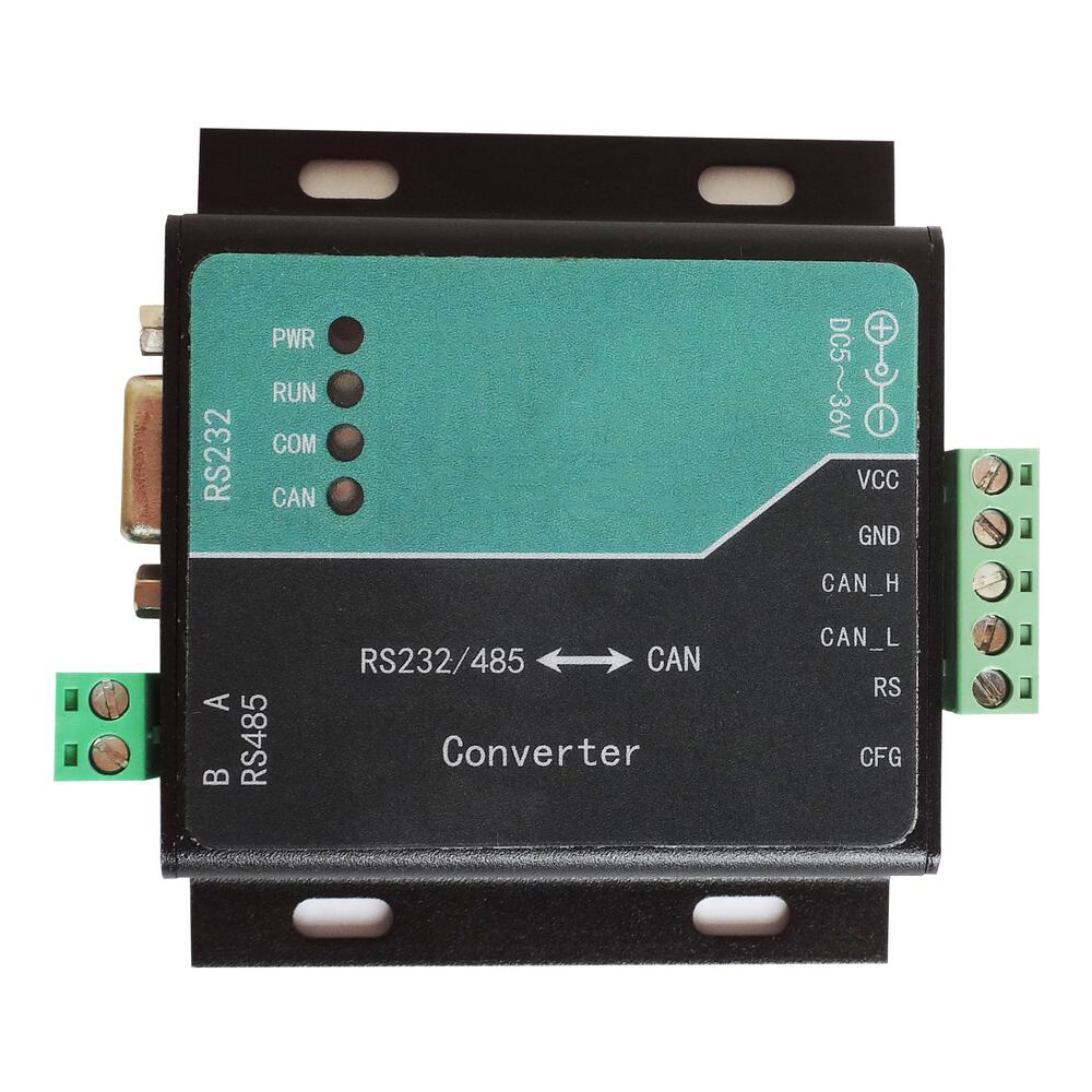 Taidacent High Performance Stability Serial To CAN Converter RS485 Can Bus Adapter Uart Can Converter RS232 To Can Bus Converter