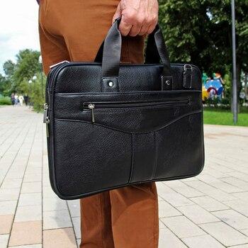 Men \s laptop crossbody bag, men document briefcase, shoulder bags, briefcases leather