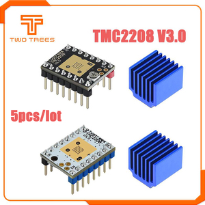 5pcs TMC2208 Stepping Motor Mute Driver Stepstick replace TMC2100 Driver with Ceramic screwdriver for SKR V1.3 Controller Board(China)