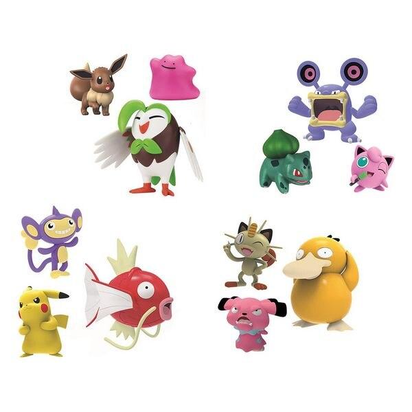 Action Figures Pokemon 114836 (3 Pcs)
