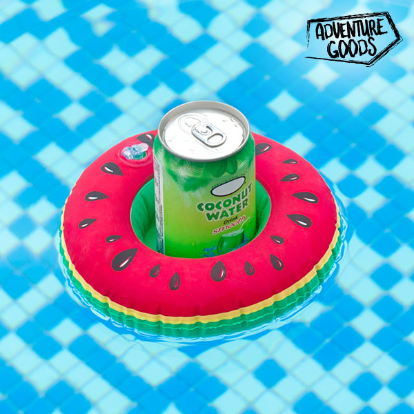 Aventure Goods Watermelon Inflatable Stand For Cans