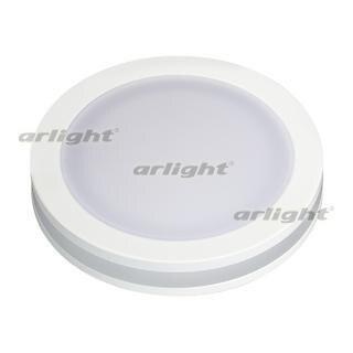 017988 Led Panel Light LTD-85SOL-5W Warm White. ARLIGHT-Светодиодный Lamp/Ceiling [embedded] Bel ^ 62