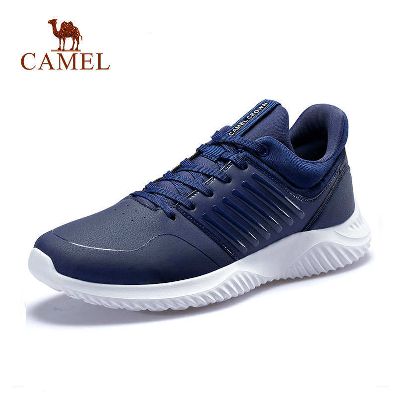 [Sale] CAMEL Men Casual Running Shoes Breathable Waterproof Lightweight Outdoor Jogging Walking Sports Sneakers