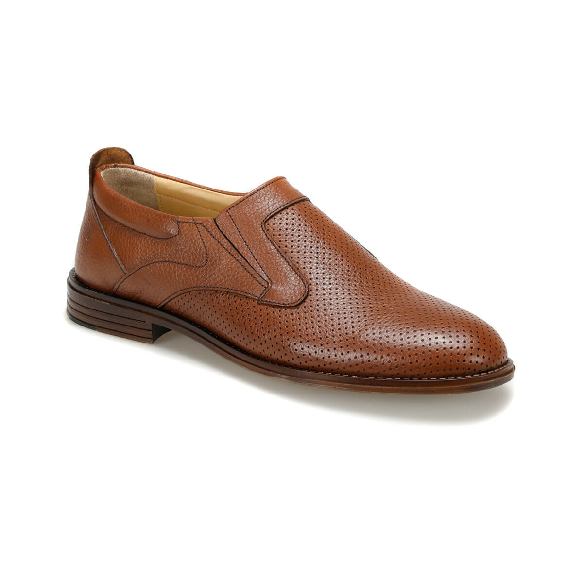 FLO 2400-1 Tan Men 'S Classic Shoes Garamond