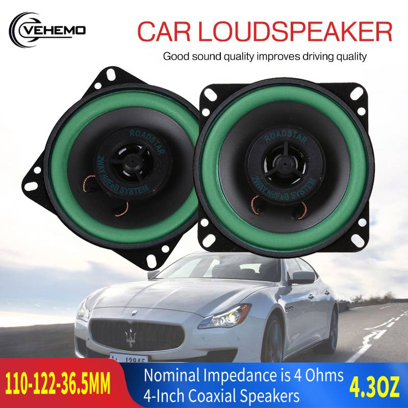Schwarz Subwoofer Wasserdichte Auto Koaxial Lautsprecher Zubehör Auto Lautsprecher Elektronische Audio Bass Lautsprecher High-End Elektronik