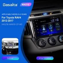 Dasaita автомобильный мультимедийный плеер на Android 10,2, с IPS-экраном 10,0 дюйма, GPS, Bluetooth, MP3, MAX10, 64 Гб ПЗУ