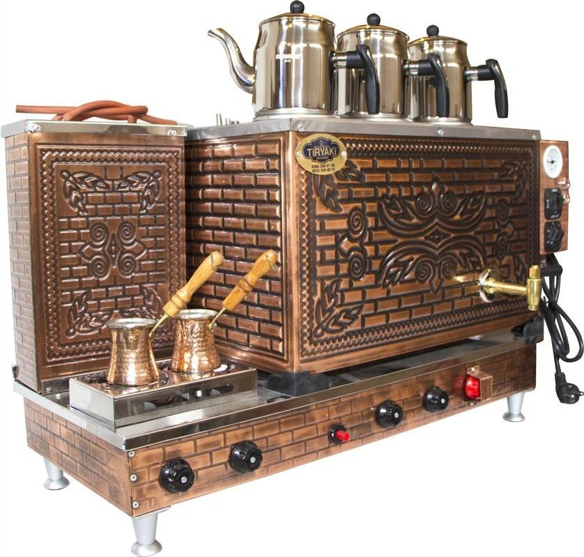 KUTLU PROFESSIONAL COPPER TEA COFFEE MACHINE
