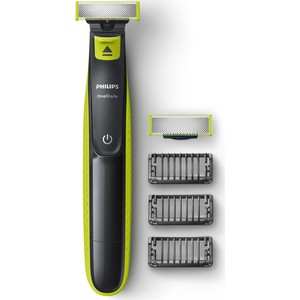 ORGINAL Philips OneBlade QP2520/30 Electric Razor Shaver Rechargeable Hybrid Trimmer and Shaver Waterproof Washable Removable