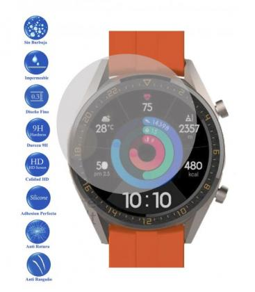 Protector de Pantalla Cristal Templado Vidrio 9H para Huawei Watch GT Active