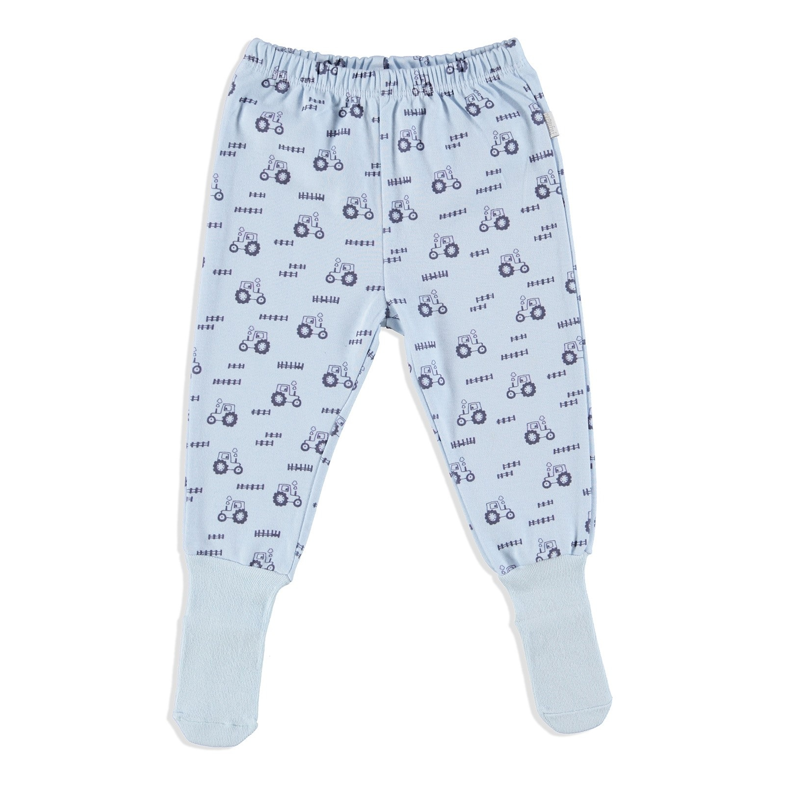 Ebebek Premini Farmer Organic Baby Footed Trousers