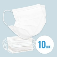 Mask disposable double layer ecosapiens, 10 PCs Per set, es 603, set of 10 masks per pack