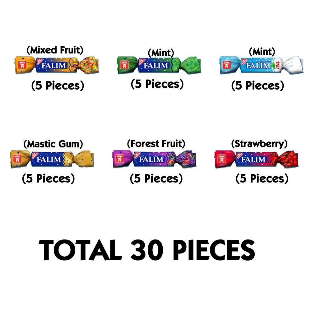 Falım Sugarless Chewing Gum Best Sugar Free Chewing Gum Sugar Free Gum 30 Pieces