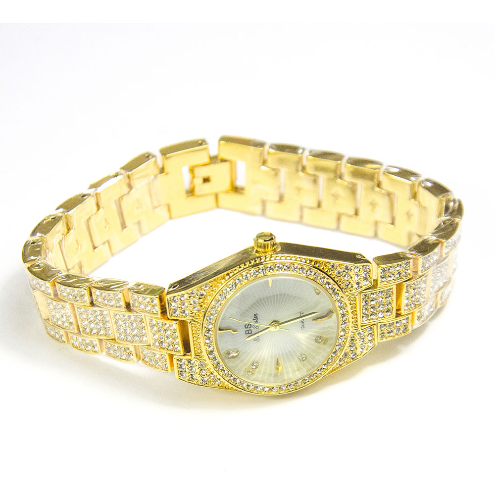 2020 New Ladies Gold Watch Women Famous Brand Bee Sister Female Wrist Watch Girl Clock Relogio Feminino Waterproof Quartz Watche