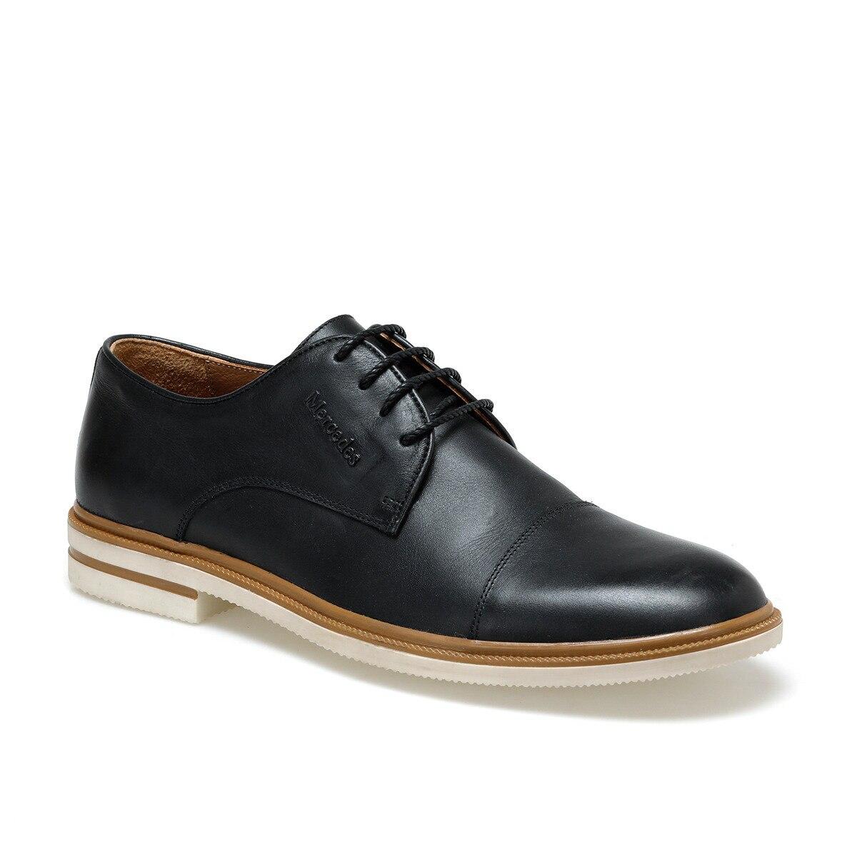 FLO DYLAN Black Men Dress Shoes MERCEDES