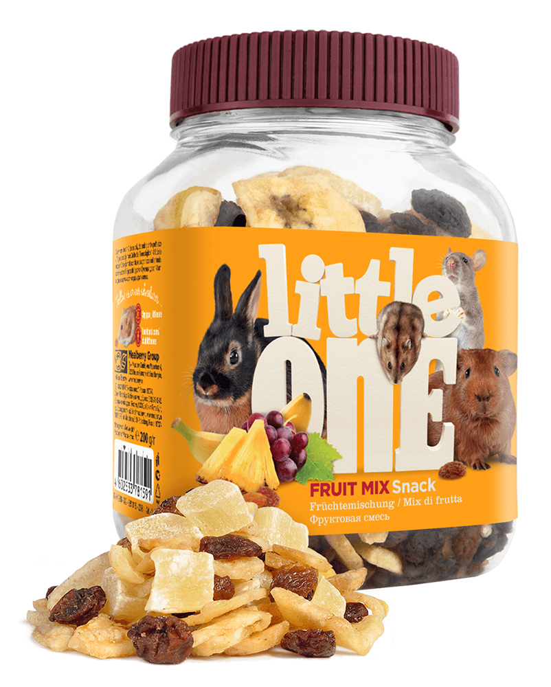 Little One Fruit Mix Dainty For Rodents (200g)