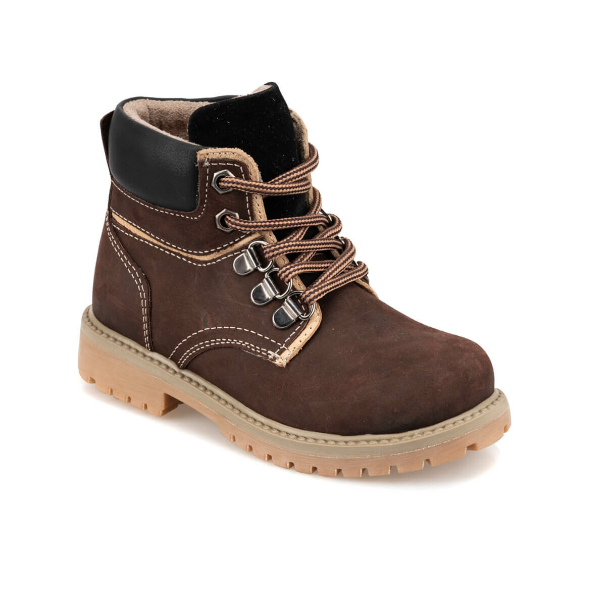 FLO 92.511734.P Brown Male Child Boots Polaris