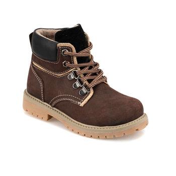 FLO 92 511734 P brązowe męskie buty dziecięce Polaris tanie i dobre opinie ALLIGATOR Korka Chłopcy