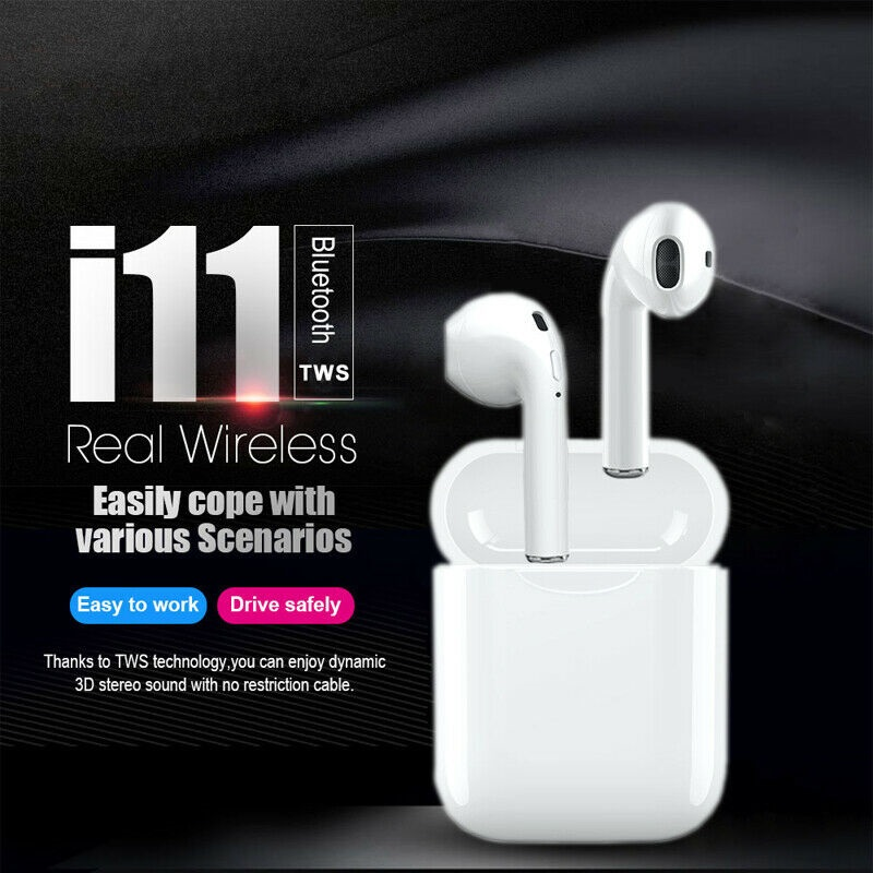 AirPods Original I11 TWS Wireless Headphone With Good Sound Free Shipping