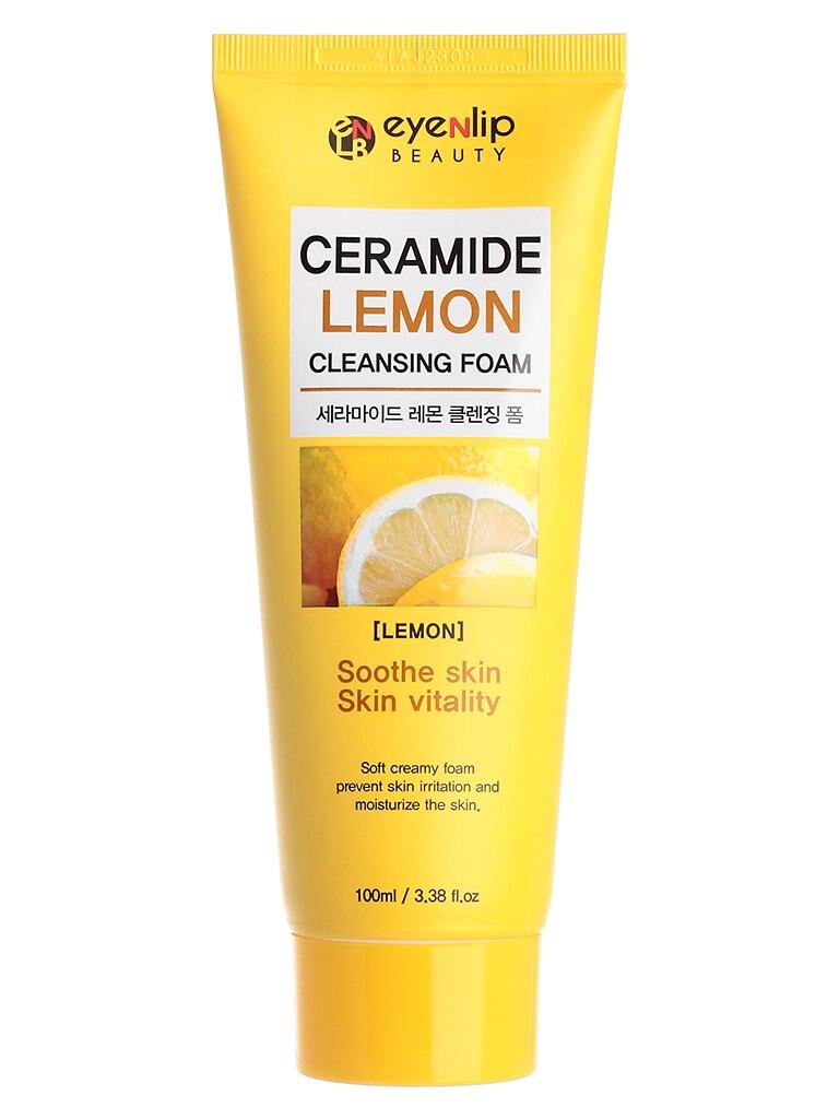 Eyenlip Sepiolite For Facial Cleanser Ceramide Lemon CLEANSING FOAM 100 Ml