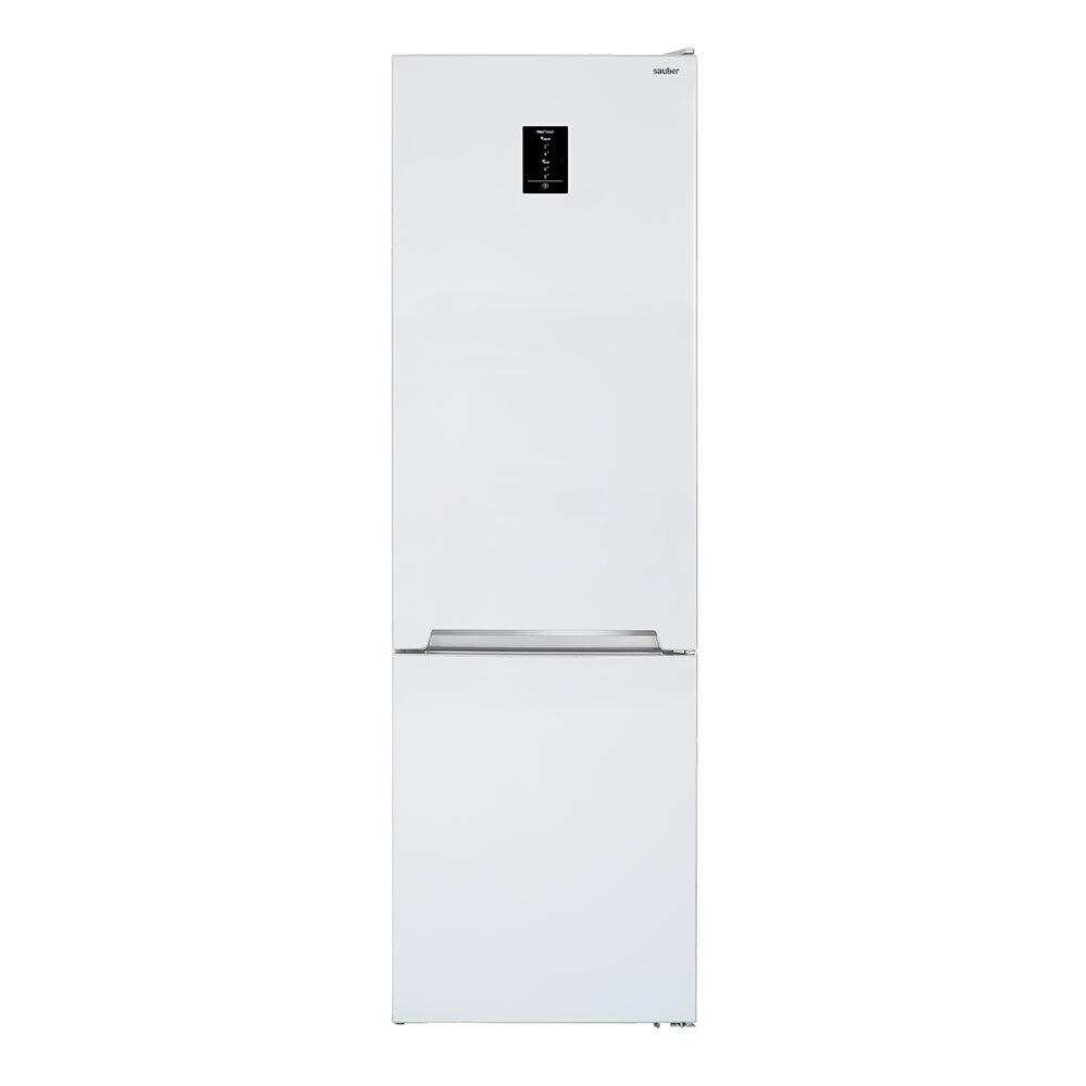 Refrigerator Combi Sauber Sc200B White Nofrost A ++ High 201 Cm Wide 59,5 Cm