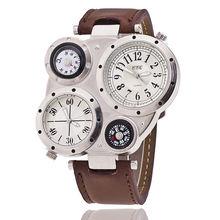 Мужские многофункциональные повседневные модные часы цифровые