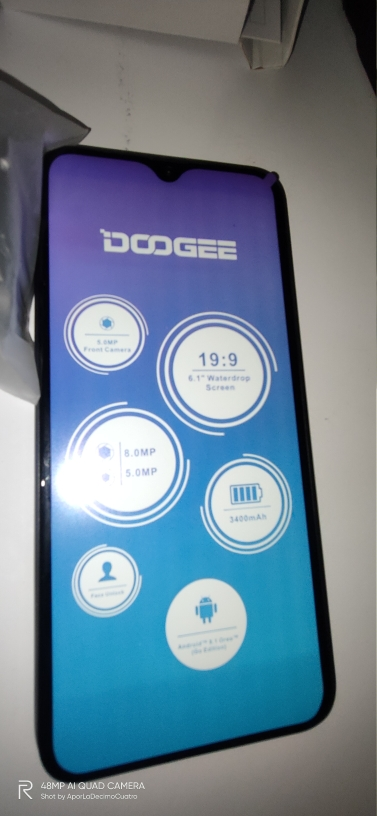 DOOGEE X90 Cellphone 6.1inch 19:9 Waterdrop LTPS Screen Smartphone Quad Core 16GB ROM 3400mAh Dual SIM 8MP+5MP WCDMA Android Go|Cellphones| |  - AliExpress