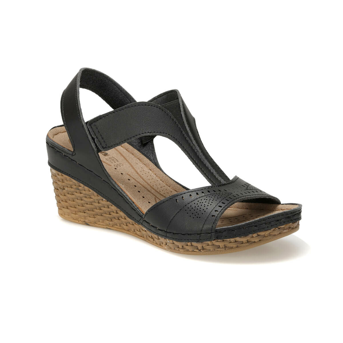 FLO 91.150773.Z Black Women Sandals Polaris