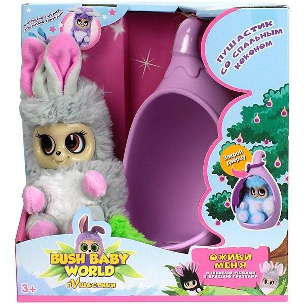 Interactive Soft Toy 1Toy Bush Baby World Puhastiki