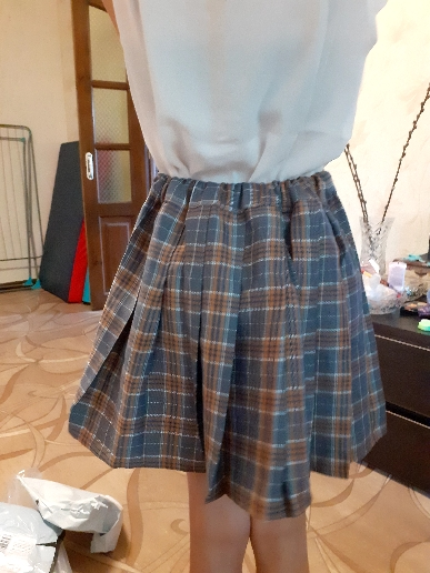 Baby Toddler Children Clothing School Plaid Girls Skirt Bottoming Princess Pleated Skirts Kids Short SKirt Summer Child Clothes photo review
