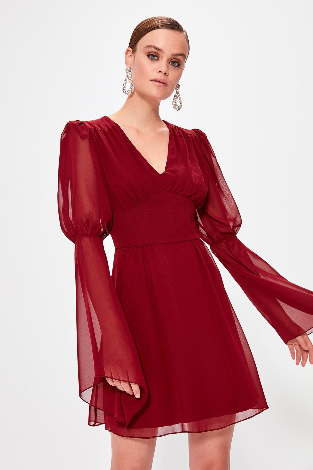 Trendyol Corsage Detail Dress TPRAW20EL0539