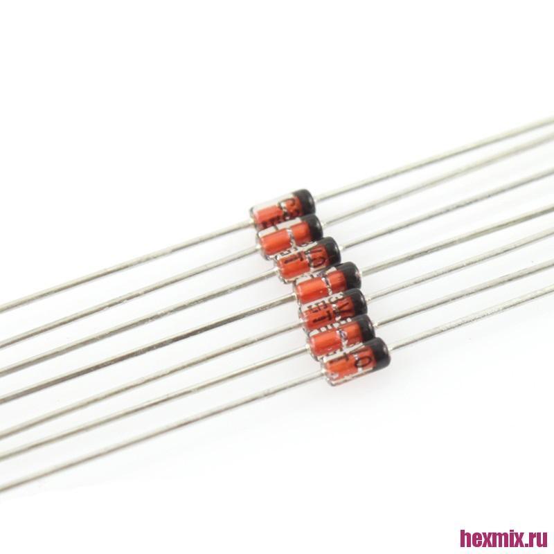 BZX55C Mcigicm Zener Diode 0.5 W 3.3-30В 2 PCs (Напряжение-15В)