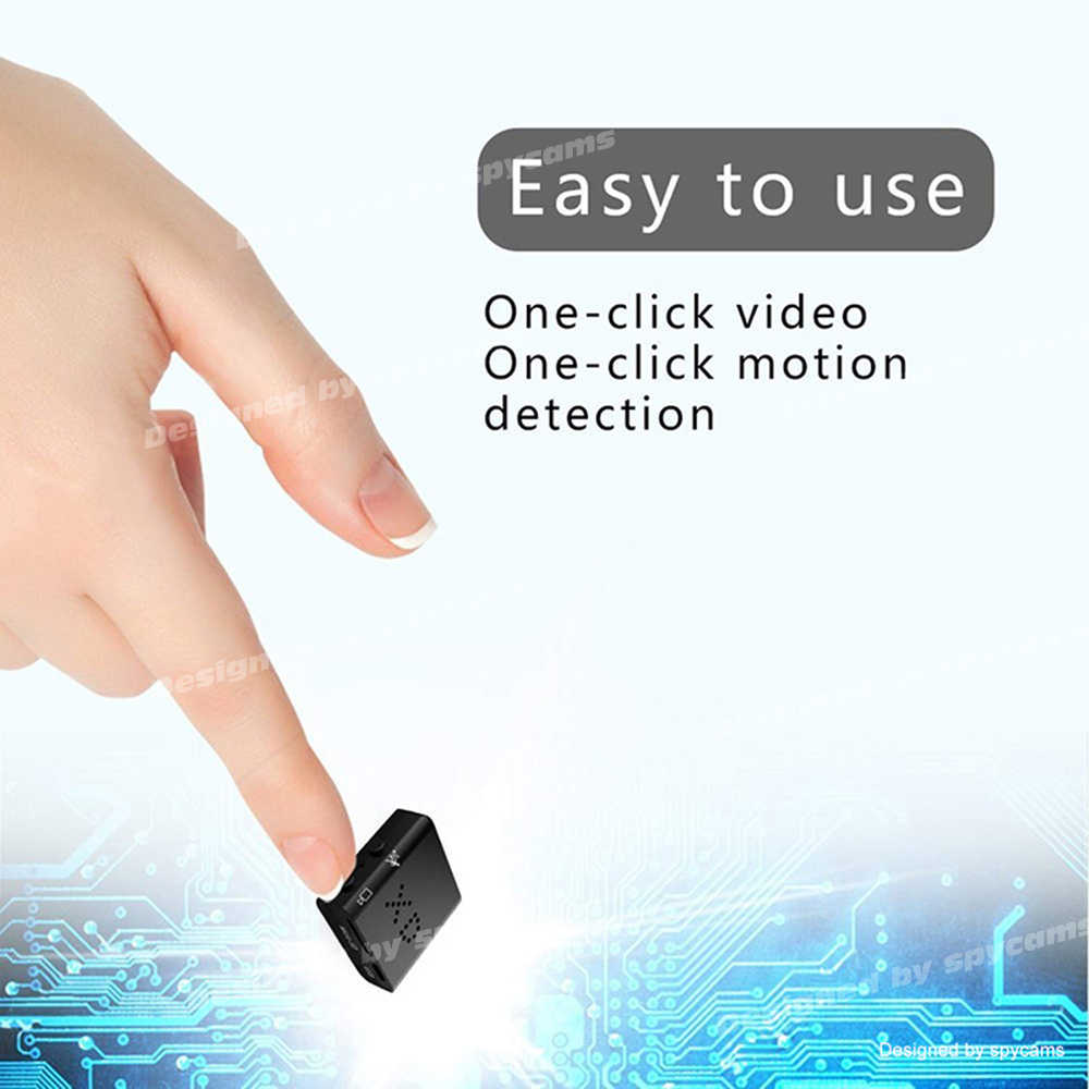 Mini cámara más pequeña 1080P HD, videocámara infrarroja de visión nocturna, Micro cámara de detección de movimiento, videocámara deportiva de seguridad ocuto PK SQ11