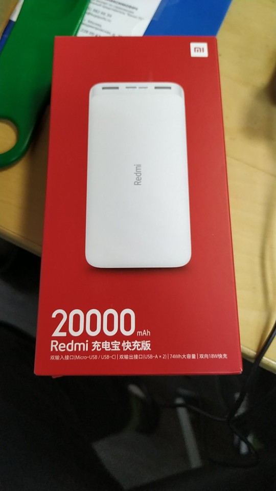 Original Xiaomi Redmi Power bank 10000mAh Mi Powerbank 20000 Qi Fast Charger Portable Charging Poverbank Power Bank    - AliExpress