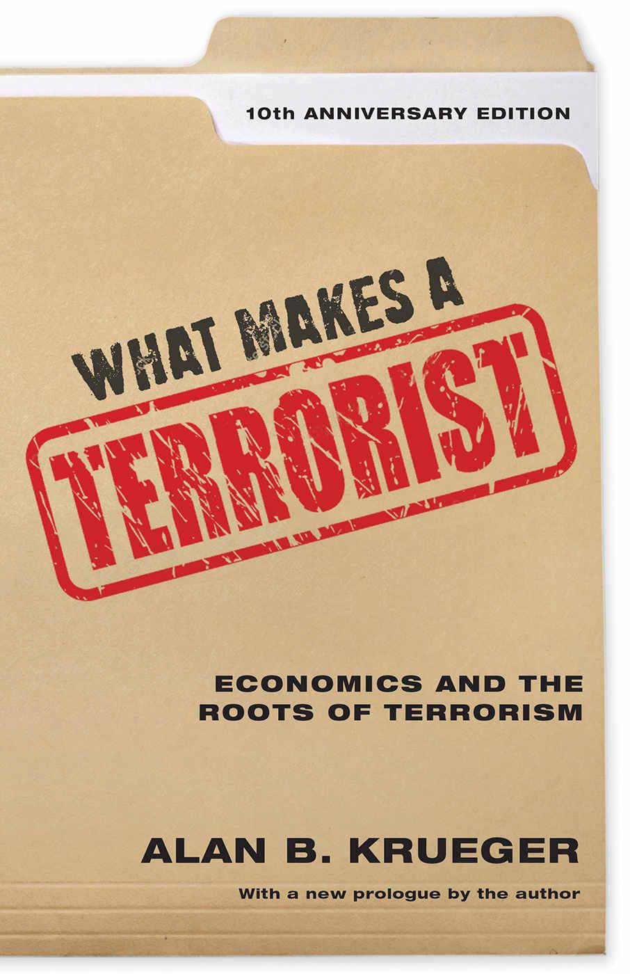 《什么是恐怖分子?經濟學與恐怖主義根源》封面圖片