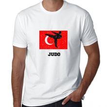Мужская футболка горячая Распродажа Турция джудо fl силуэт