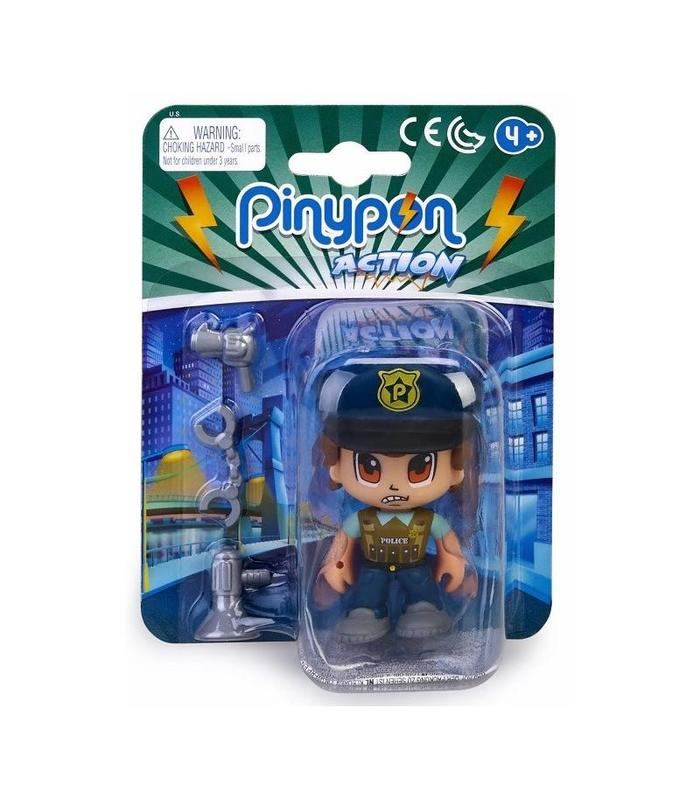 Pinypon Action Figure Police Squad Boss Toy Store