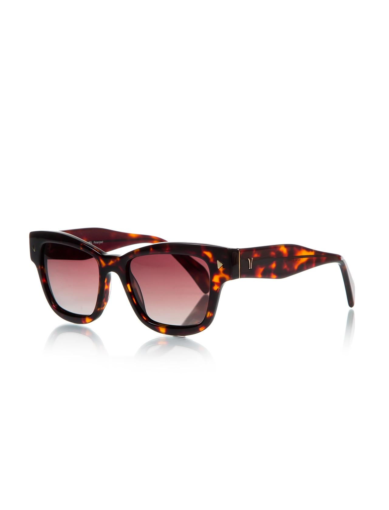 Women's sunglasses rh 15795 04 bone black organic square square 53-19-140 rachel