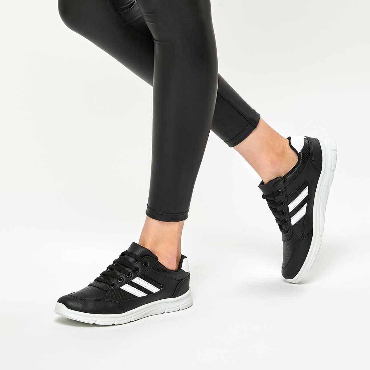 FLO 92.314871.Z Black Women Sneaker Polaris