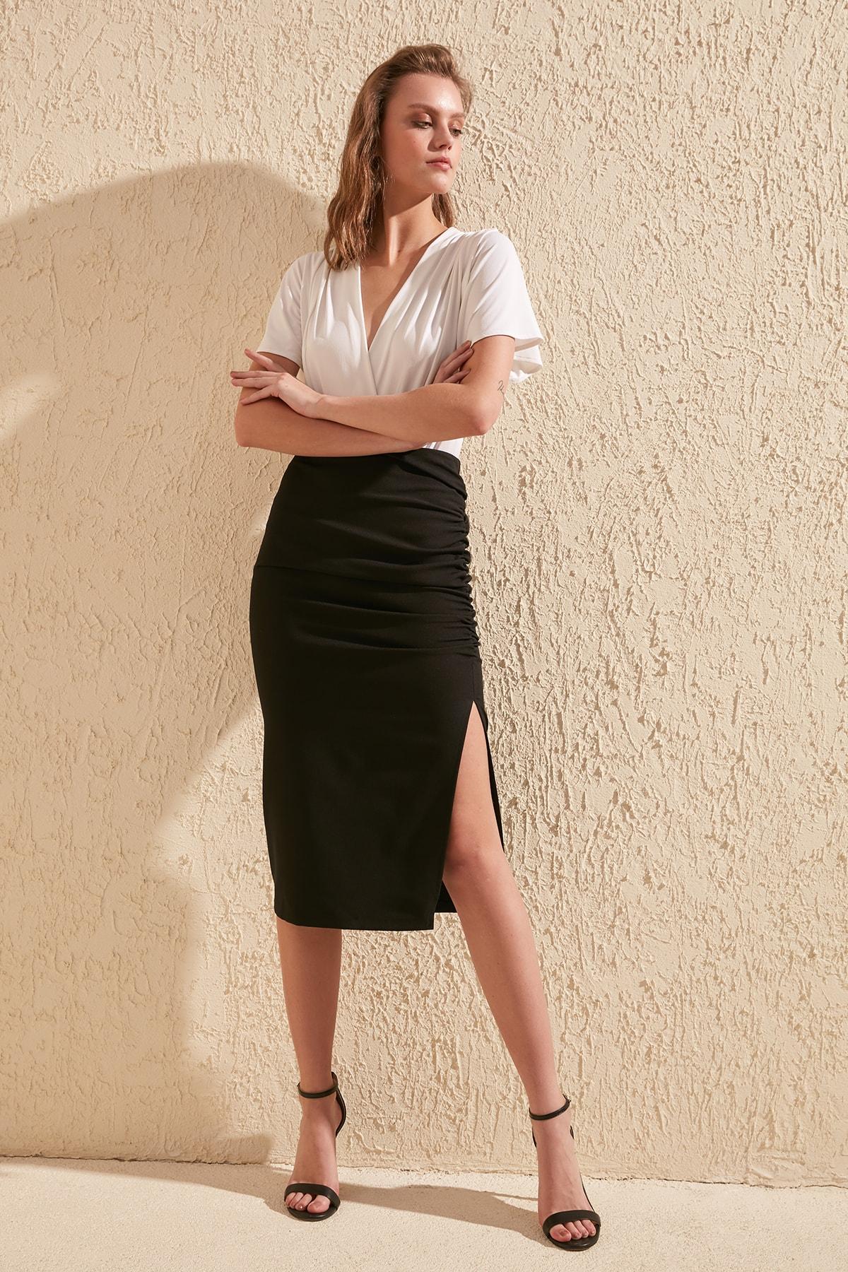 Trendyol Basic Skirt TWOSS20ET0045