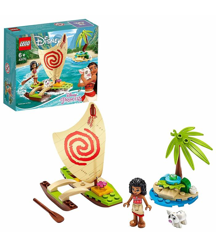 Lego 43170 Adventure Oceanica From Moana Toy Store