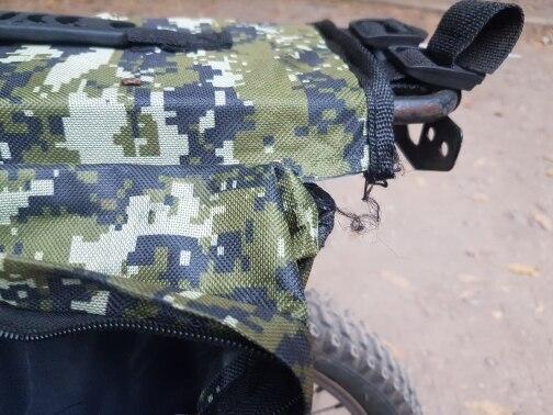 Cestos e bolsas p/ bicicleta traseiro traseiro alargada