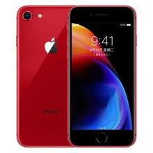 Apple – authentique Smartphone iPhone 8 débloqué, téléphone portable, LTE, écran de 4.7 pouces, appareil photo de 12 mpx, Hexa Core, 2 go de RAM, iOS, lecteur d'empreintes digitales
