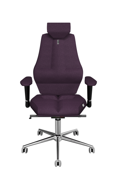 Office Chair KULIK SYSTEM NANO Purple Computer Chair Relief And Comfort For The Back 5 Zones Control Spine