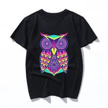 Футболка owlart забавная футболка для женщин и мужчин Милая