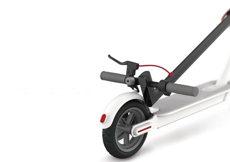 New Arrival 8.5 inch Electric Scooter with Smart Folding Electric Longboard in White/Black color 5