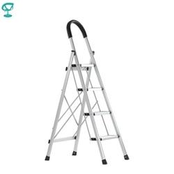 95675 Barneo ST-24 Ladder aluminium 4 stappen van enkele side max belasting 150 kg gratis verzending naar Rusland