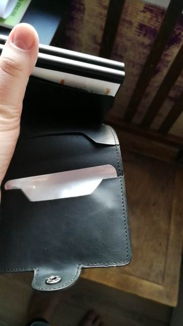 Bisi Goro 2019 Men And Women Business Credit Card Holder Metal RFID Double Aluminium Box Crazy Horse Leather Travel Card Wallet business card wallet card wallettravel card wallet - AliExpress